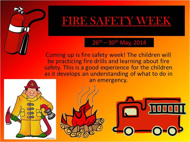Upcoming Event – Fire Safety Week