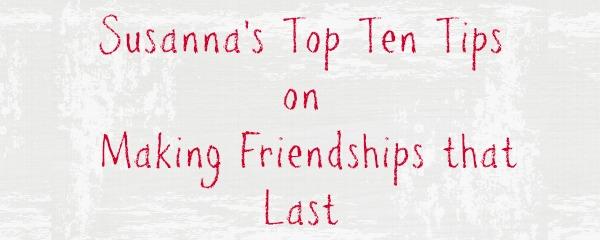 Susanna Friendship
