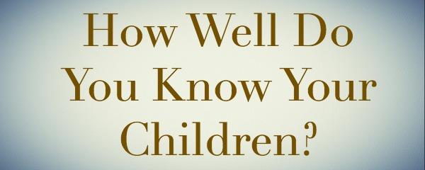 know children