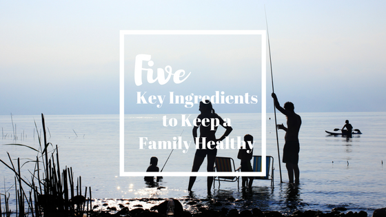Five Key Ingredients to Keep a Family Healthy