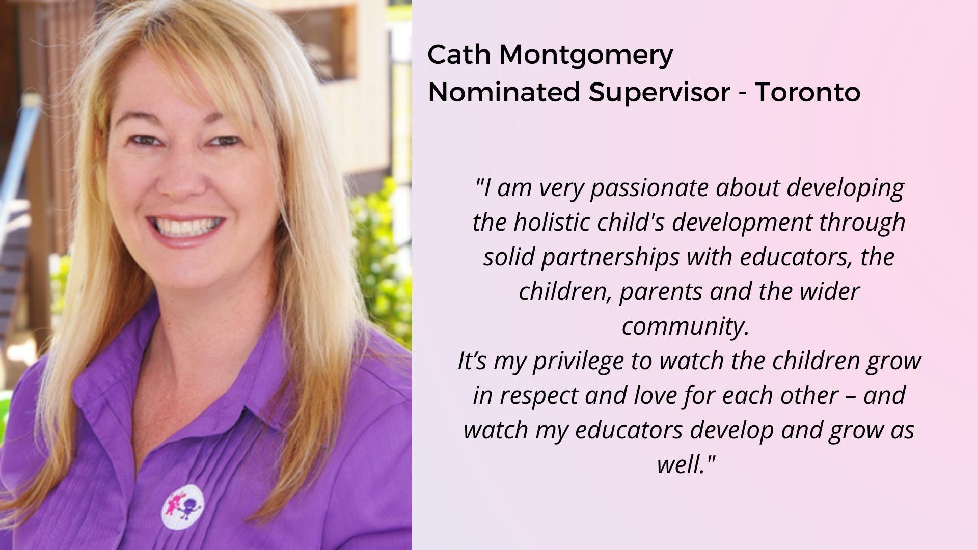 Cath Toronto Preschool Supervisor