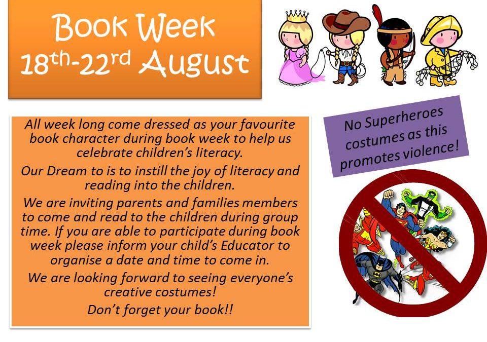 Book Week – August 18th-23rd